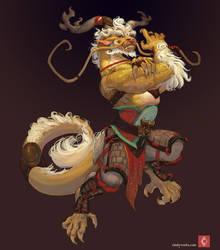 Big Golden by CindyWorks