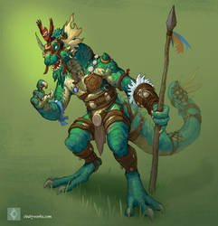 Lizardfolk by CindyWorks