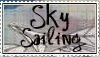 Sky Sailing Stamp by miss-fenris