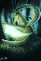 Grovyle by Cana-the-wolf