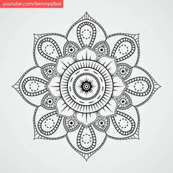 How to Make Mandala  by bennyqibal