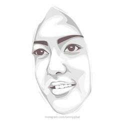 Vector Face  by bennyqibal