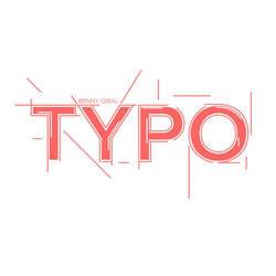 TYPO line Design  by bennyqibal