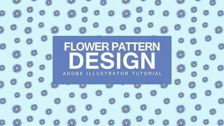 Flower Pattern Design Tutorial  by bennyqibal