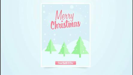 Illustrator tutorial Christmas Flyer  by bennyqibal