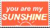 [F2U] You Are My Sunshine Stamp by testaccount0211