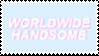[F2U] Worldwide Handsome Stamp by testaccount0211