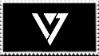 [f2u] Seventeen logo stamp by testaccount0211