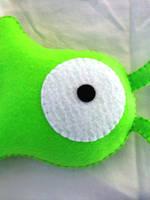 Brain Slug Plush by P-isfor-Plushes