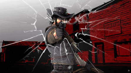 Red dead redemption wallpaper by dimitroncio