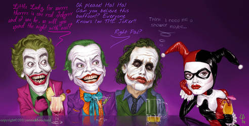 Jokers by YannickBouchard