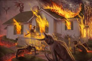 Hell on Earth by YannickBouchard