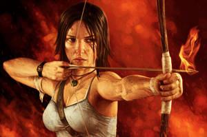 Fiery Lara by YannickBouchard