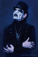King Diamond Portrait by YannickBouchard