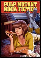 Pulp Mutant Ninja Fiction by YannickBouchard