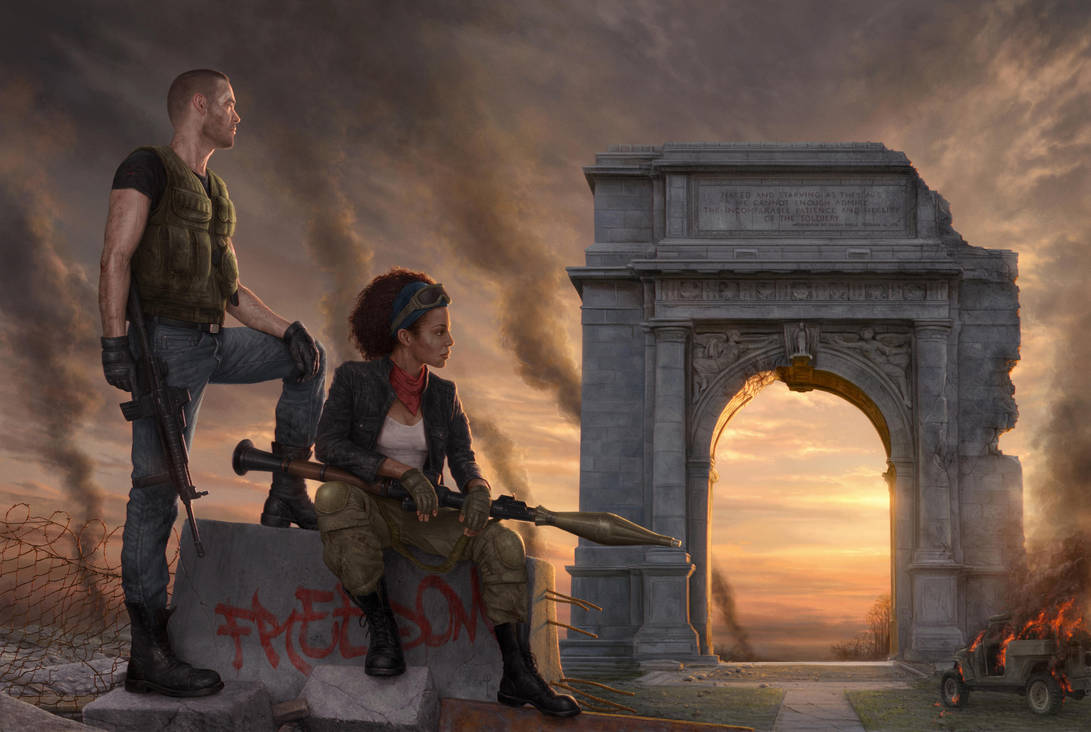 After the war by YannickBouchard