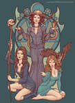 Coven of Three by YannickBouchard