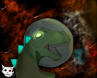 Space Dino by General-Exile