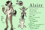 Alzirr SFW Reference Sheet by ABlackOrange