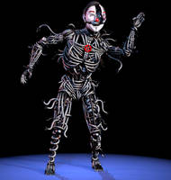 Ennard but it's Scott because why not by gabemreeves