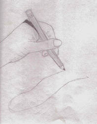 Realistic hand commissions ex. by kittykatz55