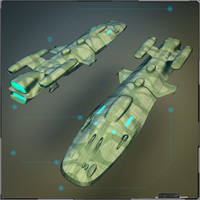 Military Light Cargo Vessel by PINARCI