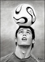 Cristiano Ronaldo by rachel-lescrayons