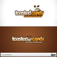 toastedcandy logo by Jayhem