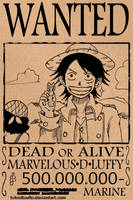 Marvelous D Luffy by TOTOOLTOULTO