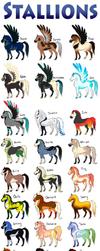 Stallion Breeding Sheet (Batch: 1) CLOSED by Drasayer