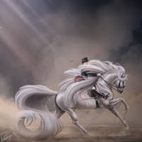 Barbie Rides a Pale Horse by Drasayer