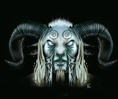 Pan's Labyrinth Faun by SuperRibbonGirl