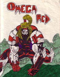 Omega Red by shadouryu