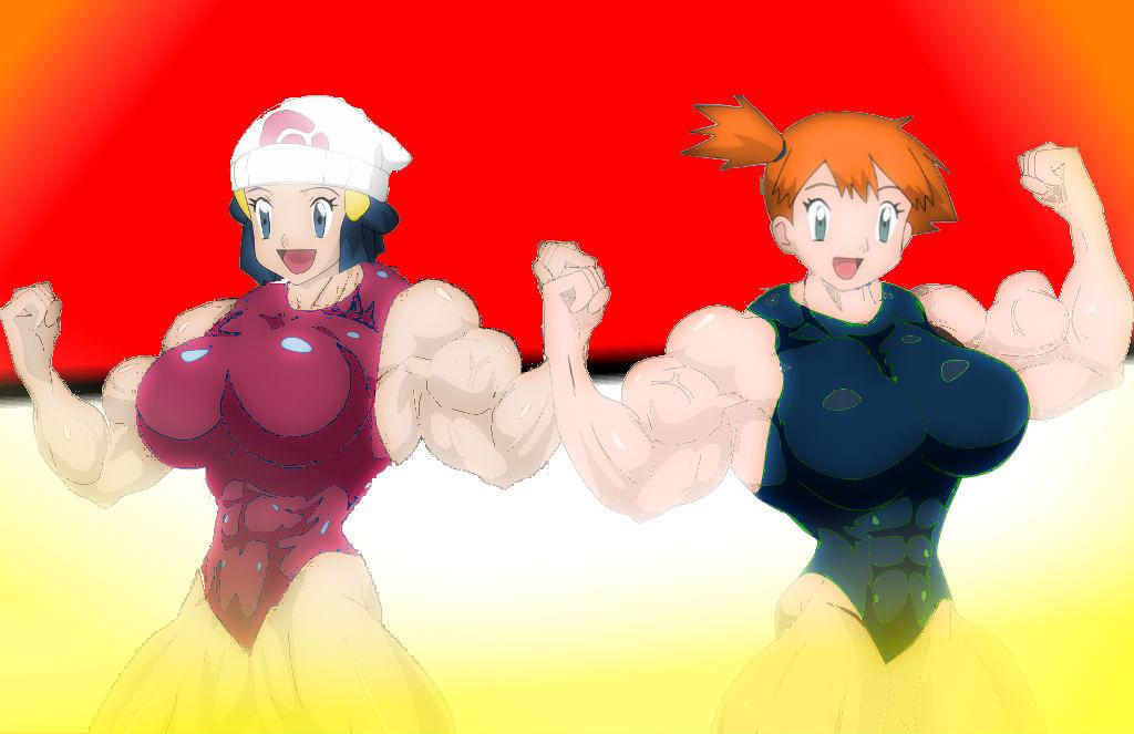 Poke Titans Dawn And Misty By EspadaDelOscuro On DeviantArt