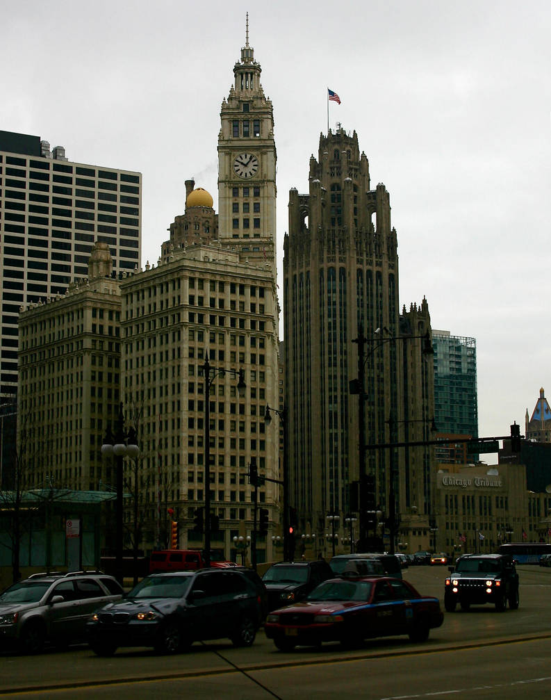 Chicago Tribune by amerindub
