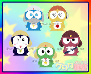 Keroro Gunsou South Park by Dosu