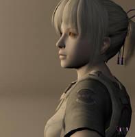 Abigail Wesker - OC [early version] by Sayuri-Tomoe