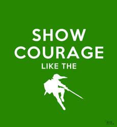 Show courage like - The Legend of Zelda by Sayuri-Tomoe
