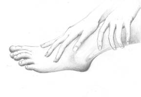 foot and hands by BlueEyedSoul1
