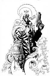 Hellboy by MicahJGunnell
