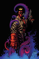 Hellboy Color by MicahJGunnell