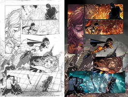 Idolized 1 pg 12 pencils and colors by MicahJGunnell