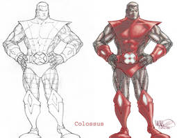 Colossus Before and After by MicahJGunnell