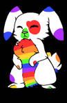 Pride Month bunny OTA! (Open) by EyelessJack20211