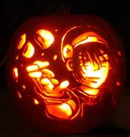 Pumpkin - Rock breaker Toph by musogato