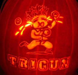 Crying Donuts, Trigun Pumpkin by musogato