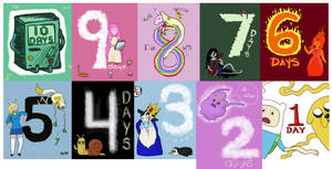 Adventure Time Countdown by musogato
