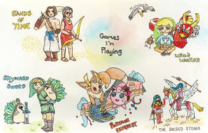 watercolor games by musogato