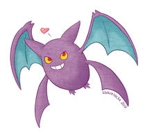 Cute Crobat by musogato