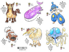 Inktober 2017: First Shinies by musogato